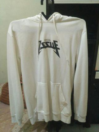Hoodie social issue white