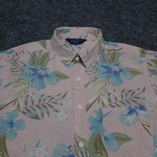 COTTON ON Print Cotton Shirt Short Sleeve Size S