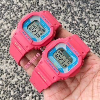 💕💕💕Casio G-Shock pink couple set GLX-5600VH-4DR and BLX-560H-4DR , Gshock lover set , GLX5600VH4DR , BLX560VH4DR , Gshock , GSHOCK , G-SHOCK , Casio