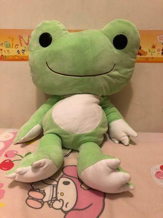 60cm 全新正版軟綿綿青蛙公仔 日本景品直送