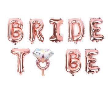 🚚 Bride to be balloon