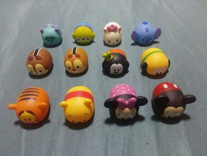 Sales! Assorted Tsum Tsum (Press have Squeaky Sound)