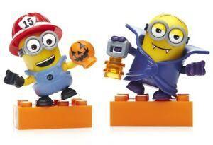 罕有 迷你兵團 minions despicable me 壞蛋掌門人 lego mega bloks 2隻 Halloween 萬聖節