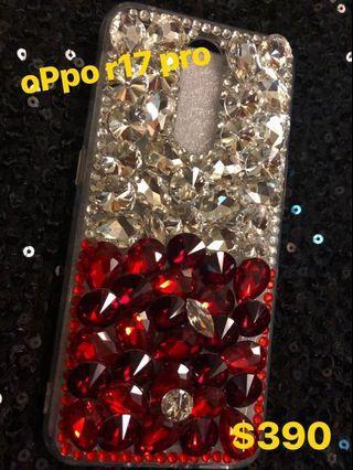 🚚 OPpo R17pro 雙色鑽手機殼、實拍、現貨、零碼、出清