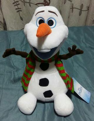 Sales! Authentic Very Cute Realistic Looking Disney Olaf (38cm include hair)