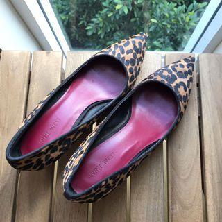 Ninewest leather heels 👠