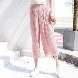 Korean Loose Chiffon Pants PREORDER