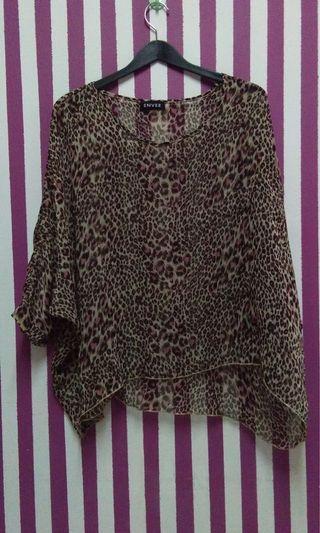 Emvee kaftan like batwing top blouse #JuneToGo
