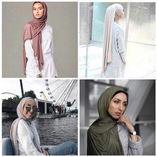 LONG COTTON PREMIUM WIDE SHAWL (INSTOCK)
