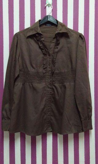 Original Valentino Rudy long sleeve blouse #JuneToGo