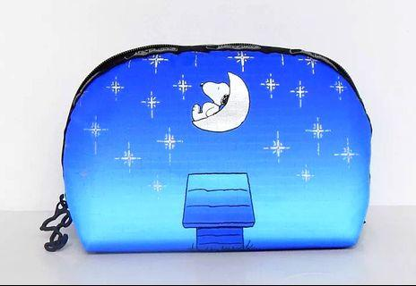 Lesportsac Snoopy Pouch (Twilight Moon Medium Dome)