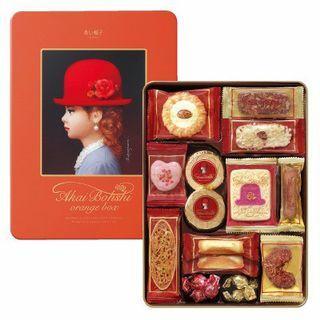 日本 Tivolina 红帽子曲奇