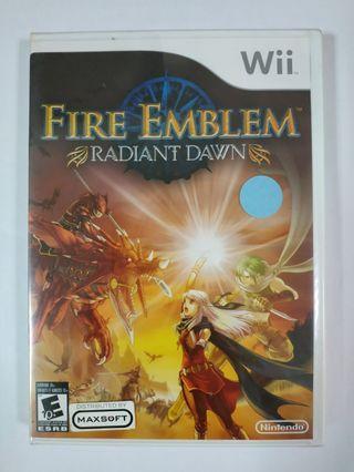 Wii Fire Emblem Radiant Dawn