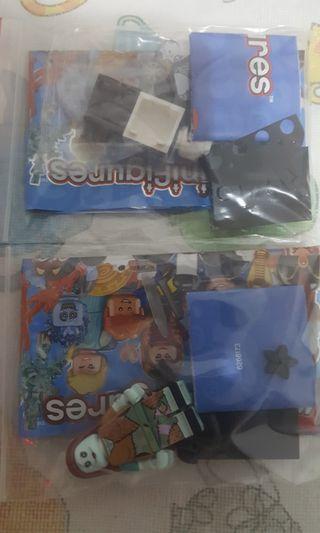 全新開袋確認 Lego 71024 Lego Disney Sories 2 Lego 迪士尼人仔 no.15 & 16