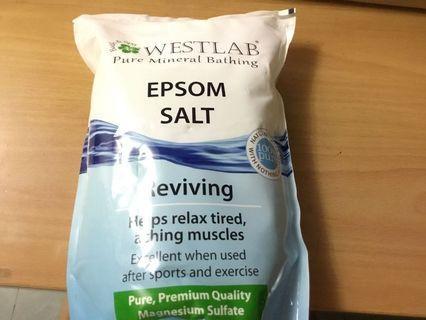 Westlab  鎂鹽/瀉鹽/愛生鹽 2kg