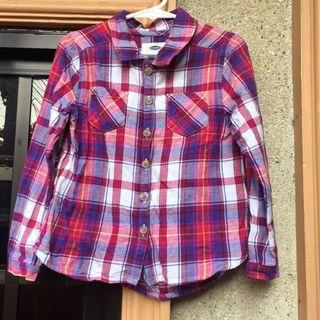 Old Navy Checkered Longsleeves Polo