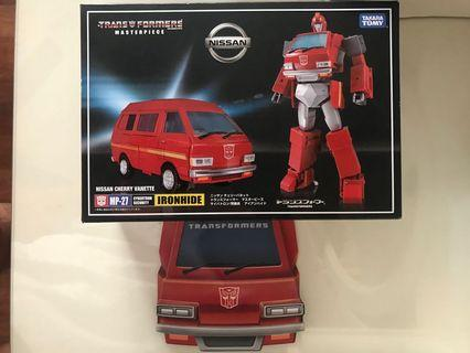 Transformers Masterpiece MP27 MP-27 Ironhide Official MISB With Coin