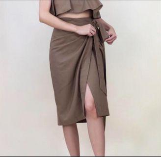 Summer Skirt Burri Side Tie Uh-Ohh
