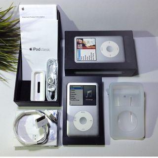 ipod 160gb silver full set box