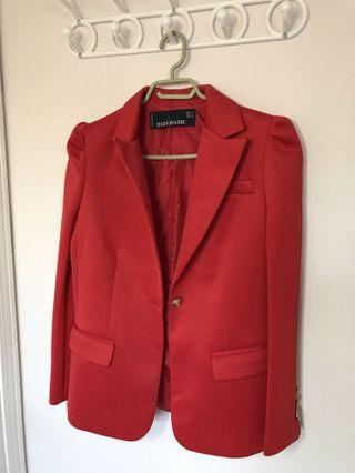 Red blazer from Italy