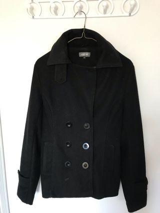 Black coat from Italy