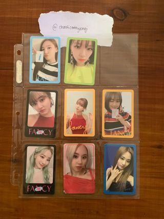 Twice Fancy You Official Album Photocards