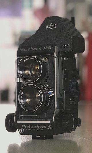 🚚 Mamiya C330S with Cds metering prism