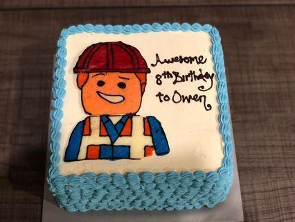 🚚 Lego cake