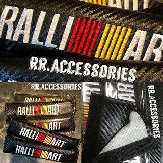 ⚫️🔴Brand New Ralliart Mitsubishi Seatbelt Cover