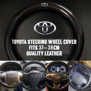 ⚫️Customized Toyota Steering Wheel Cover