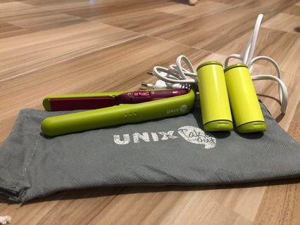UNIX Take Out 系列 綠色 便攜空氣流海卷髮器