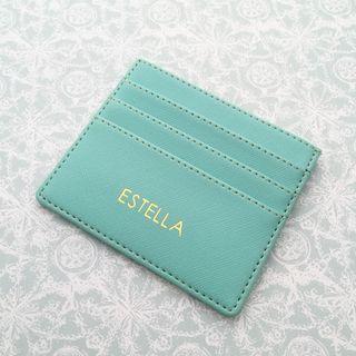 Personalised cardholder cardcase personalised gift personalised card holder birthday gift farewell gift wedding bridesmaid gift