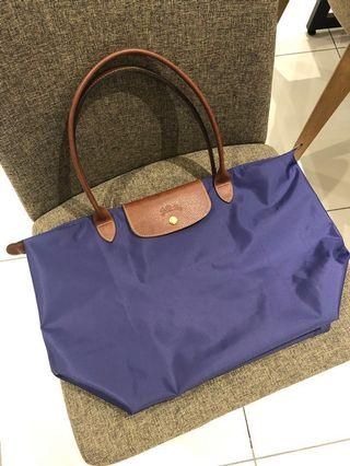 Longchamp Le Pliage Large Long Handle