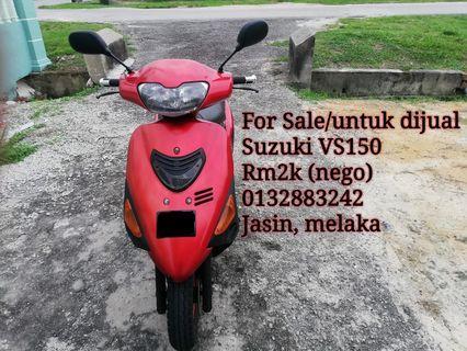 Suzuki VS150 scooter, motor murah2