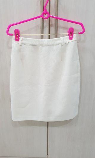 🚚 White work skirt