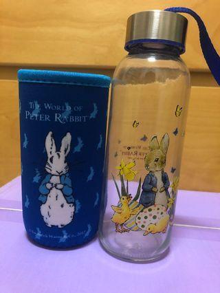 🚚 彼得兔玻璃隨行杯320ml