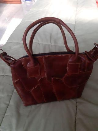 Leather Bag Patchwork