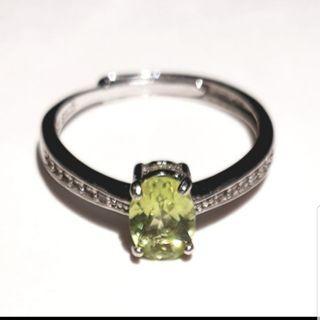 🚚 橄欖石戒指