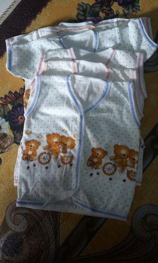 Baju bayi 6pcs