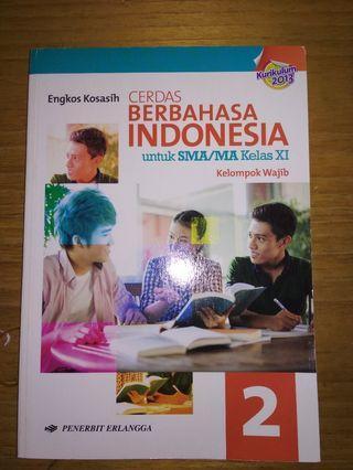 Buku Cerdas Berbahasa Indonesia Kelas 11