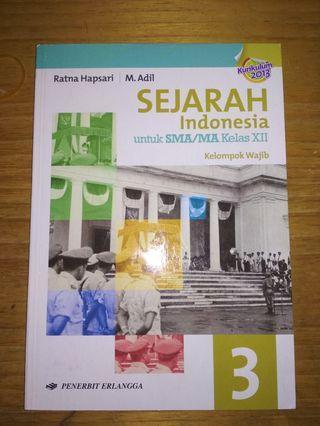 Buku Sejarah Indonesia Kelas 12