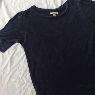 Zara Navy Tshirt