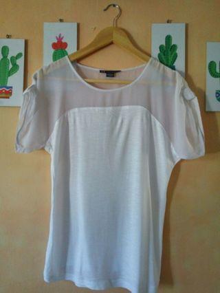 Armani exchange white blouse