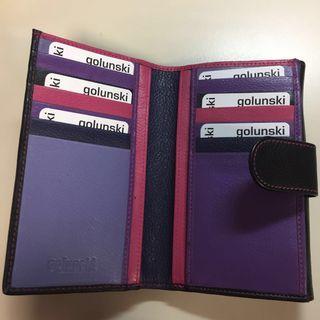 Genuine Leather wallet -Golunski UK