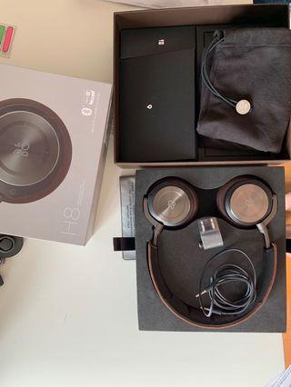 B&O H8 Bluetooth Noise Canceling - Like New