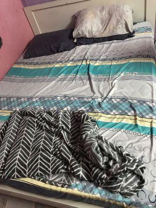 Queen bed/mattress