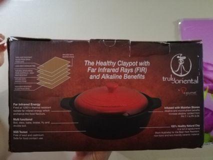 Brand new La Gourmet Truly Oriental Healthy Claypot