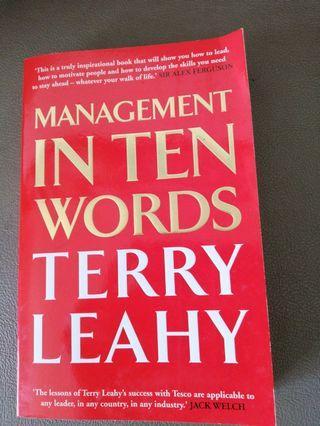Management in ten words