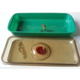 Plastic Tray with Cover