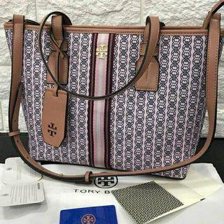 NEW Tory Burch Canvas tote bag full set / tas TB Premium / new arrival free name tag